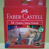 Pensil Warna Faber Castell 24 Warna Classic
