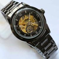 Jam tangan SKELETON otomatis tanpa baterai