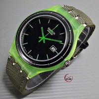 Swatch canvas green
