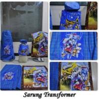 sarung instan anak karakter transformer (uk M)