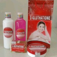 Grosir PAKET L-GLUTHATIONE BODY WHITENING