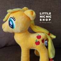 Boneka My Little Pony - Apple Jack - Rattle Plush Toy