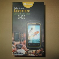 Hape Outdoor Android Gplus G168 G-168 Adventure Dual SIM Water Resist