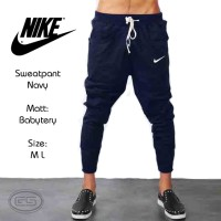 Jogger NIKE Navy blue | sweatpants | Training | Celana Olahraga | Biru