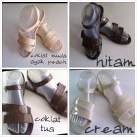 Sandal Sepatu Jelly Flat Merk Fashion