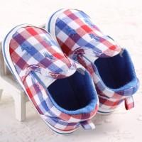 sepatu anak bayi polo kotak burberry baby prewalker shoes polo square