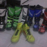 SEPATU MOTOR CROSS FOX KING COPY