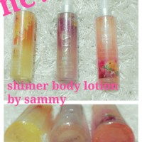 LOSION HARUM WANGI GLITTER SHIMMER BODY LOTION BY SAMMY FRAGRANCE mac