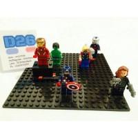 1 set Lego Marvel mini Figure The Avengers