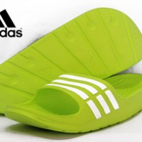 Sandal Adidas Duramo Hijau Stabilo (Nike,Eiger)