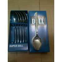 Super Doll Sendok / Garpu Makan (6 pcs) - Garpu Doll