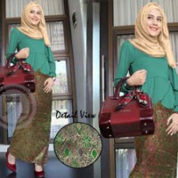 Tabit Set Jersey Songket India