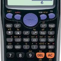 CASIO FX-82ES PLUS - Scientific Kalkulator