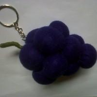 Souvenir Gantungan Blueberry Flanel K10