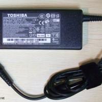 Adaptor Laptop Toshiba 19V - 3,95A Original Sudah Termasuk Kabel Power