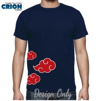 "Kaos Naruto  Akatsuki Side Logo "" by Crion"