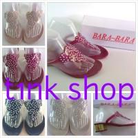 Sandal Sepatu Jelly Blink Blink Bara Bara