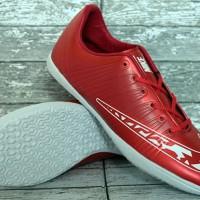sepatu futsal Nike Elastico FInale Merah Maroon