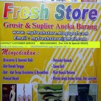 Fresh Store Grosir : Aneka Produk Kesehatan, Kecantikan, Rumah Tangga!