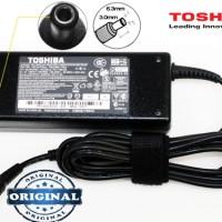 Adaptor Laptop TOSHIBA 15V - 5A Original Bonus Kabel Power