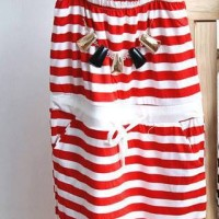 Jumpsuit Kid Red Stripe