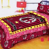 Sprei Bola AC Milan Extra King Size 200x200