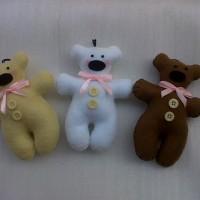 Boneka Beruang Flanel O5