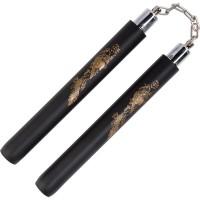 Nunchaku Double Stick Dobel Stick Ruyung Busa Foam Naga