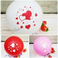 Balon around love (balon hati, balon cinta)