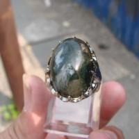 Cincin Batu Lumut Suliki M 7