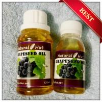 Grapeseed Oil (Minyak Biji Anggur) 60ml - Perawatan Rambut & Kulit