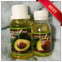 Pure Avocado (Alpukat) Oil 60ml - Cosmetic Grade Cold Pressed