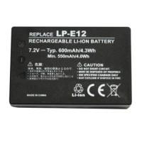 Baterai Camera Canon LP-E12 (OEM) - Black