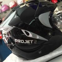 Helm MDS projet2 - double visor - bonus kunci anti maling