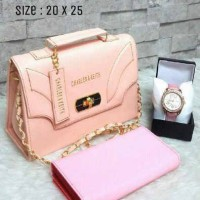 CK clucth baby pink