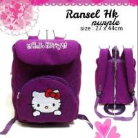Ransel Hello Kitty purple