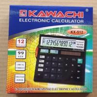 Kalkulator KAWACHI KX-512 12 DIGIT Elektronic Calculator Check Correct