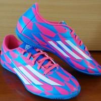 jual Sepatu Futsal,Adidas F5 IN Tribalpack Blue/Pink