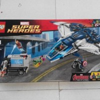 Lego SuperHeroes #76032 The Avengers Quinjet City Case. New