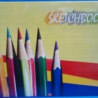 Kiky Sketch Book A4 50 Sheet