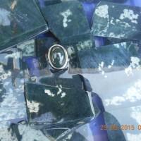 Batu akik Lidah buaya semi super khas Palu,Bacan doko,giok,ijo,rough