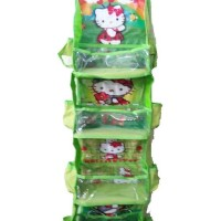 RMO Hello Kitty Hijau (Rack Multifunction Organizer) Karakter Jumbo