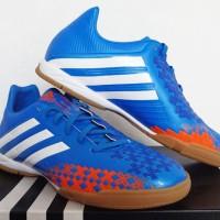 sepatu futsal,bola,Adidas Predator Absolado Blue/White