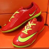 jual sepatu futsal,bola,Nike Mercurial Superfly IV merah
