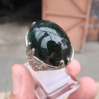 Cincin Batu Lumut Suliki M 3