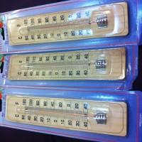 Thermometer ruangan sella kayu