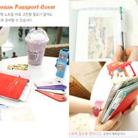 Korean Passport Cover 3 in 1