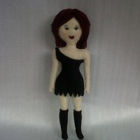 Boneka Putri Elegant Flanel O4