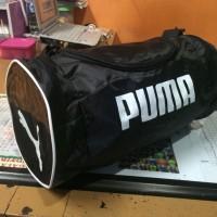 Tas Puma Tabung Hitam Selempang (tas sepatu,tas futsal,tas murah,gym)