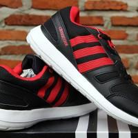 Adidas Climacool XRun Hitam Strip Merah(sepatu running,olahraga,kets)